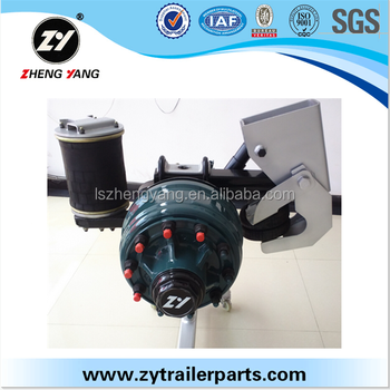 Tri Axle Air Suspension For Trailers China