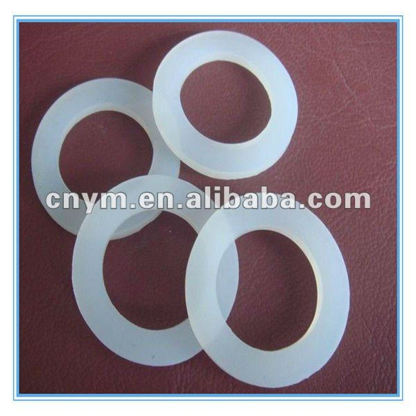 clear silicone rubber washer rubber stopper washer