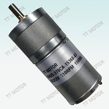GM25-370CA 12v magnet permanent dc motor dc electric motor