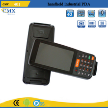 android 1D barcode pda scanner industrial pos device with Wifi Bluetooth IP65