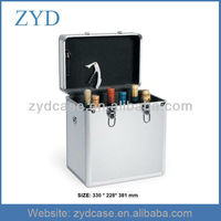 6 bottle wine case, 6 bottle wine carrier ZYD-JX18