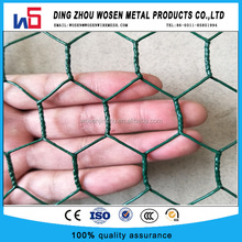 green pvc coated hexagonal wire mesh/black viycle chicken wire netting
