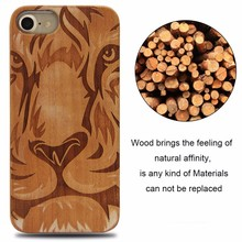 2017 Newest design hard wood for iphone 7 case luxury,handphone accessories