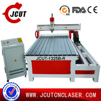 2D 3D WOOD ENGRAVING CARVING DRILLING cnc routing machine for model JCUT-1325B-R