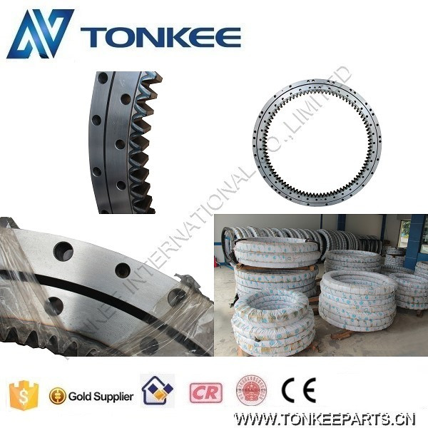 E307C excavator slewing bearing, E307D swing bearing, E307E slewing gear ring 17-3527