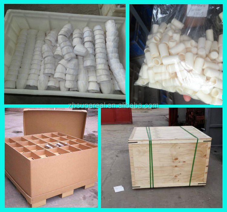 White high temperature refractory 99 alumina combustion crucible