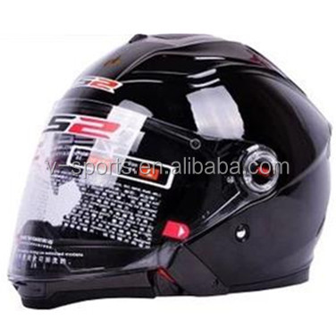 Double Lens Motorcycle Helmet LS2 modular motorcycle helmet Full Face helmet Switch to Open Face Helmet Function