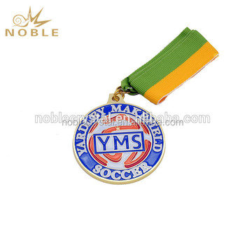 Custom Design Metal Medal with Ribbons Made in China