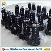 submersible solid handling sewage pump