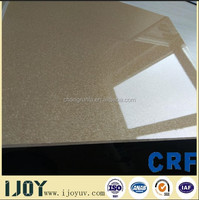 18mm Melamine Coated MDF board/high gloss ssolid color panel for furniture/hotel with low price