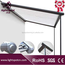 motorized skylight metal roof awning for terraces and outdoor garden