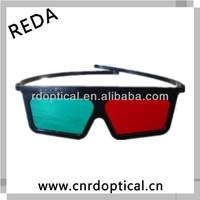 Watch movies directly for you,color plastic frame red cyan 3d glasses for films
