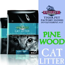 high quality pet cleaning products pine wood cat litter