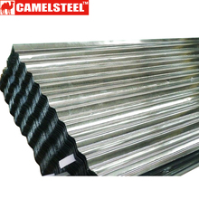 Zinc Alloy Material white corrugated roofing sheet
