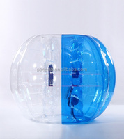 Half blue half clear bubble ball, kids bubble football