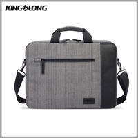 Kingslong 15, 15.6-Inch Waterproof Laptop Case Bag with Handle for Apple Macbook, Chromebook, Acer, Asus, Dell, Fujitsu, Lenovo