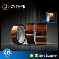 class h insulation gold high temperature polyimide heat tape for masking