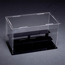 LED Light Acrylic Lego Display Case With detachable design