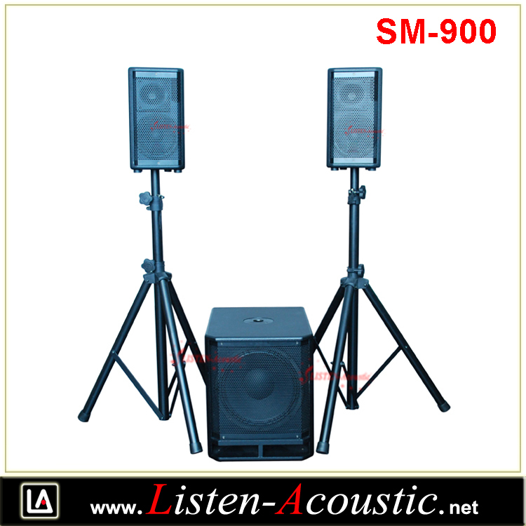 SM-900 2.1 Combo portable PA System with Digital Amplifier