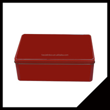 New Design Food /Cookies Storage Metal Tin Box Nuts Metal Tin For Home With High Quality