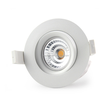 2700k 3000k 4000k 5000k available 9w led cob downlight SDCM<3 0-100% dimming 83mm hole for bedroom hotel