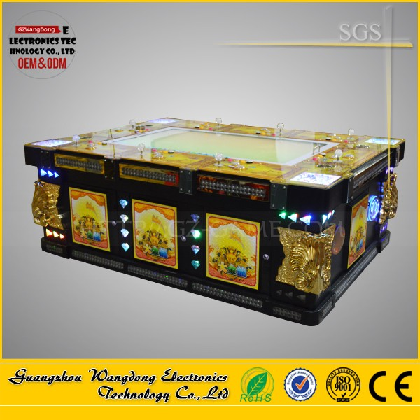 8 players or 10 players english fire kirin Ultimate Version fishing season game machine with bill acceptor