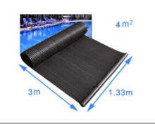 Pool solar heating mat, portable pool heater solar collector for swimming pool