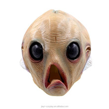 scary halloween party cosplay rubber alien anime latex horror mask