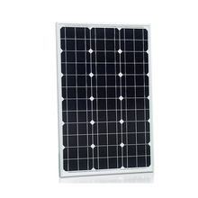 Aluminum Extrusion Profile 80w Solar Panel with 3 diodes