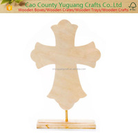 Unfinished Wood Craft Decorative Wooden Cross