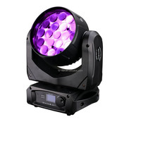 19x10W Aura beam wash light led moving zoom