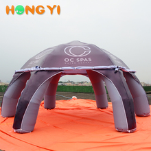 Giant inflatable six foot tent custom advertising giant landmark dome tents for sale