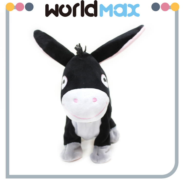 New Product Mini Wild Animal Plush Toy Donkey
