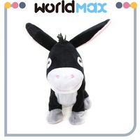 New Product Wild Animal Plush Toys Donkey Gifts