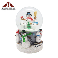 Wholesale Home Decoration Crafts Resin Snow