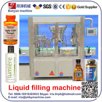 2016 Shanghai price 3 in 1 bottle filling machine for mouthwash with ce 0086-18516303933