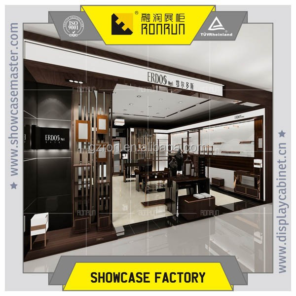 Popular and fashionable interior design decoration garment shop 's name