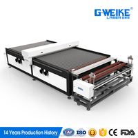 high speed good precision automatic fabric cutting machine for clothes making industry