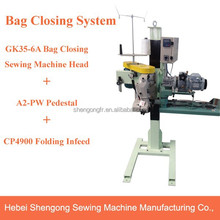 A2-PW+CP4900+GK35-6A High Speed Pedestal Rice Bag Stitching System