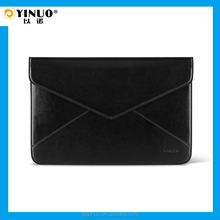 YINUO Black PU leather portability Sleeve Bag for MacBook Air 13.3 inch