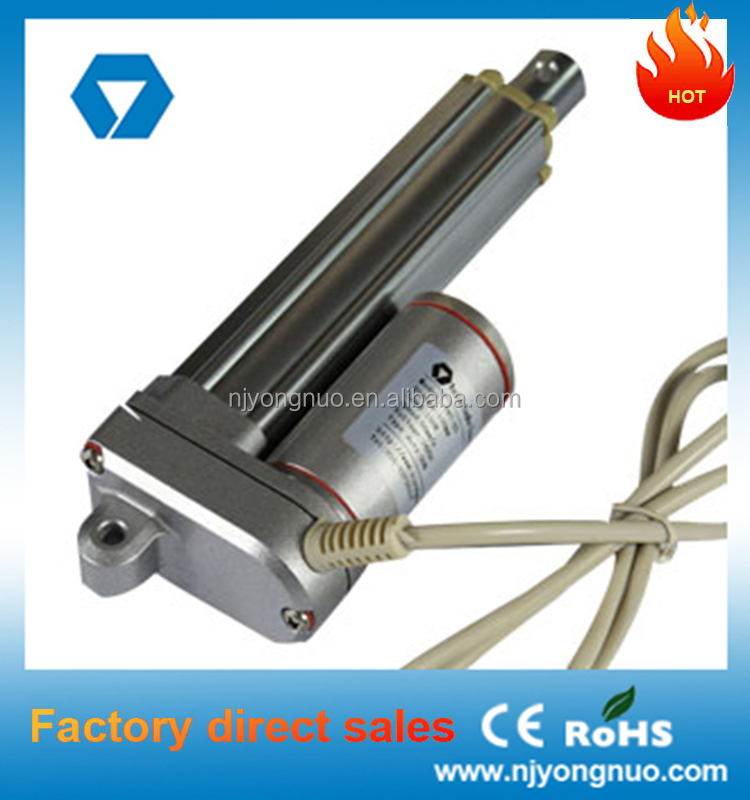 Car Tailgate Electric Telescopic Motor Actuator With Long Stroke