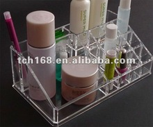Clear Acrylic Crystal 16 Cases Cosmetic box