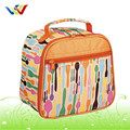 Full printing customized coloured lunch bag