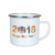 2018 world cup custom decals print camping coffee enamel mugs for pubs