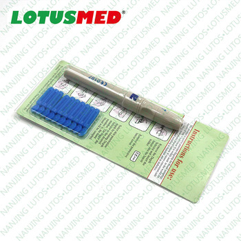 Medical Single Use Plastic Safety Blood Lancet Made In China