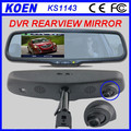 High Quality 4.3'' Monitor Dual Lens 1080P Mirror LCD Car DVR