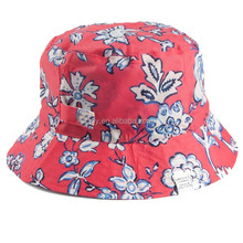 All Over Print Wholesale Waterproof Bucket Hat Rain hat