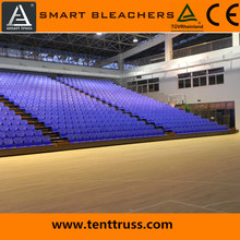 Smart telescopic seating retractable bleacher retractable grand stand stadium sports