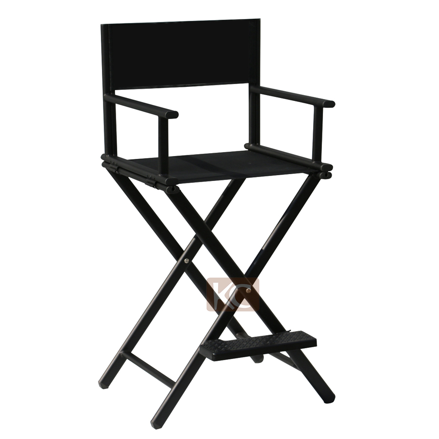 Comfortable modern design cheap directors makeup chair, small  metal folding chairs, load-bearing and strong chair