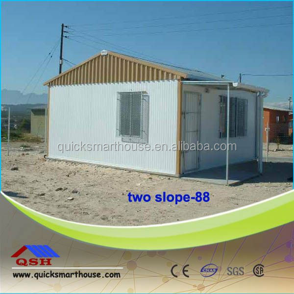 metal structure galvanized steel structure villa house